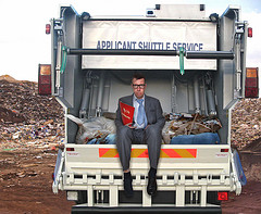 Don't end up on the job interview garbage truck.