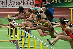 Hurdles By Grzegorz Jereczek from Gdańsk, Poland (60m Hurdles  Uploaded by russavia) [CC-BY-SA-2.0 (http://creativecommons.org/licenses/by-sa/2.0)], via Wikimedia Commons