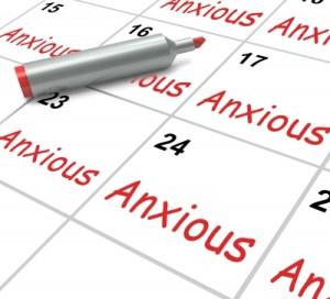 Anxiety Calendar