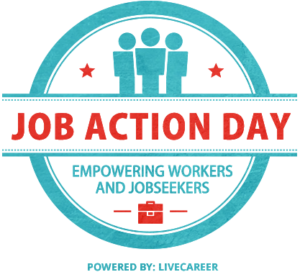 Job Action Day badge