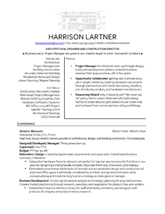 Free Resume Samples By Professional Resume Writer In Minnesota