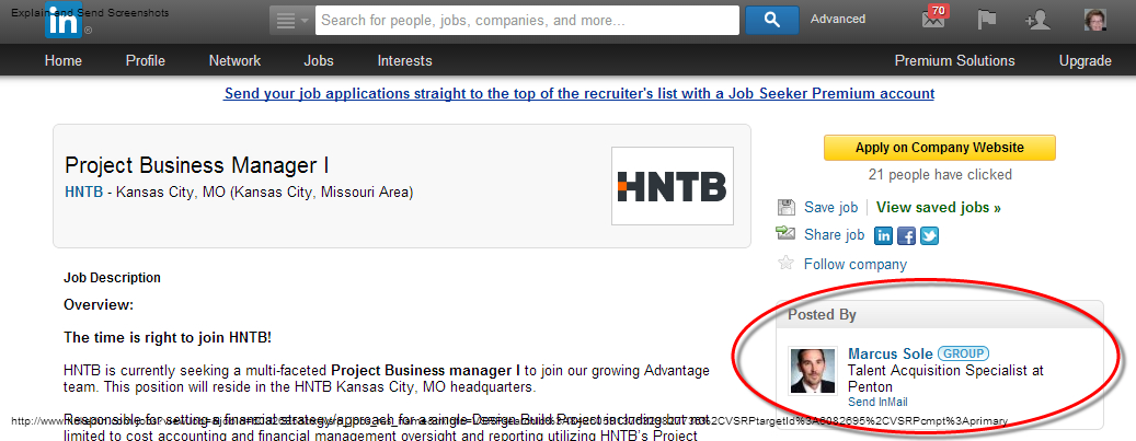 Find elusive hiring manager names in LinkedIn | Executive